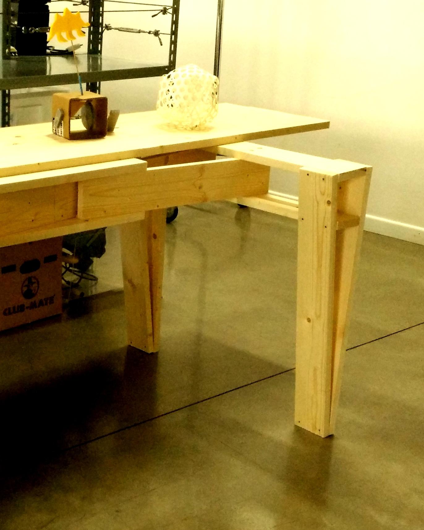 Costruire tavolo excellent come costruire un tavolo for Costruire tavolo ping pong